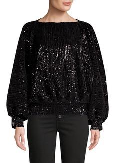 RtA Pippa Sequin Sweater