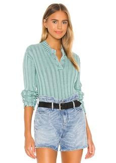 RtA Abigail Polo Sweater