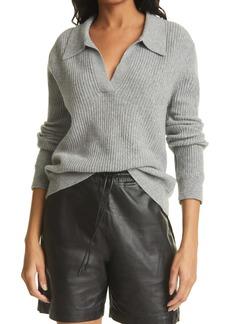 RtA Amalia Spread Collar Cashmere Sweater