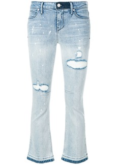 Rta cropped flare jeans - Blue