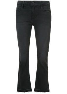 Rta cropped flared jeans - Black