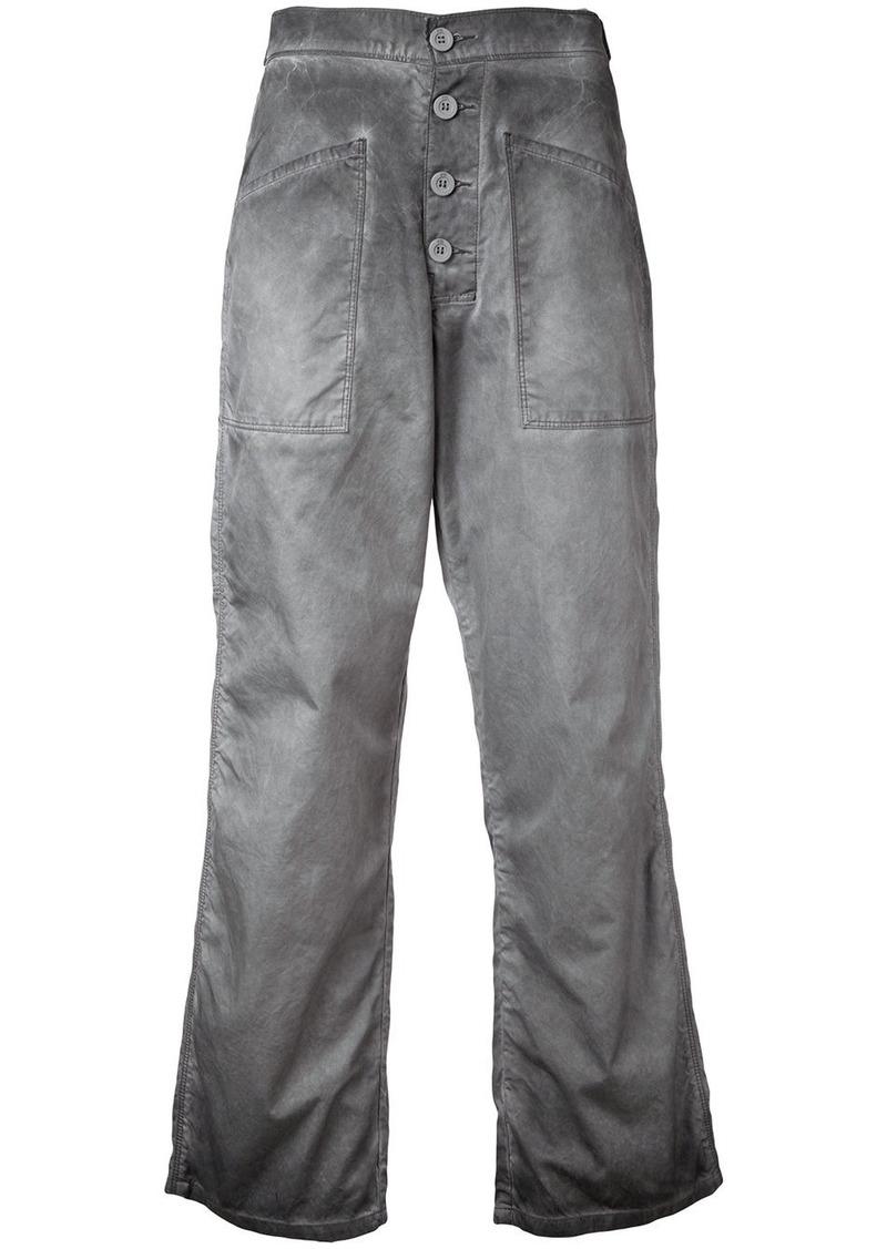 cropped flared jeans - Grey Rta KpHS0u