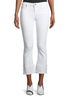 RtA Duchess Mid-Rise Flared-Leg Jeans