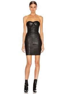 RtA Gwenyth Leather Dress