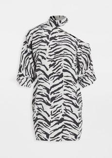 RtA Julia-Neck Cutout Dress