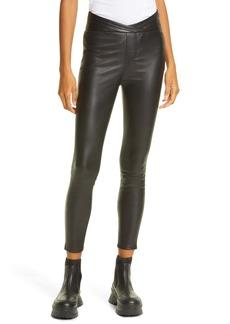 RtA Kyle Leather Skinny Pants