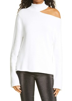RtA Langley Cutout Shoulder Sweater