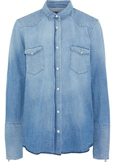 Rta Woman Ashley Denim Shirt Light Denim