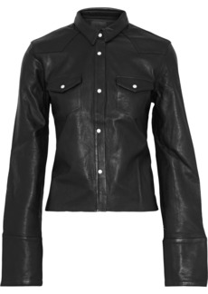 Rta Woman Ashley Leather Jacket Gunmetal