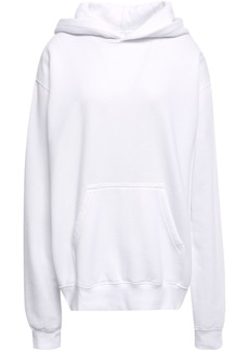 Rta Woman Austin Printed Cotton-blend Hoodie White