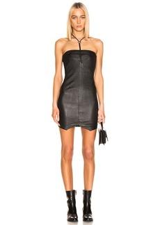 RtA Wylde Leather Dress