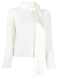 RtA scarf neck sweater