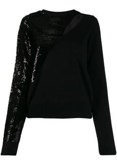 RtA sequin-embellished jumper