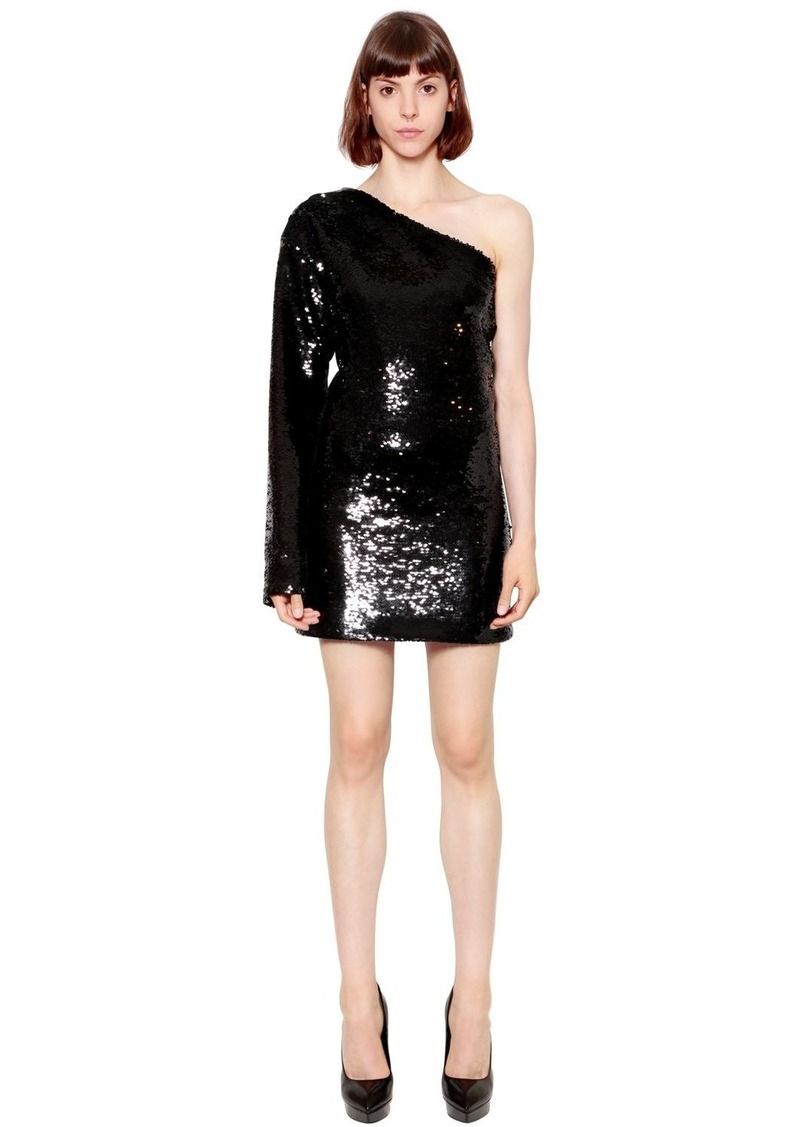 9374e3f2 RtA Sequined One Sleeve Dress | Dresses