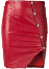 RtA side buttons mini skirt