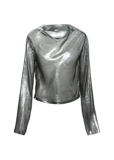 RtA Soline Metallic Blouse