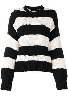 RtA striped crewneck sweatshirt