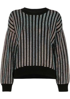 RtA swarovsky sweatshirt
