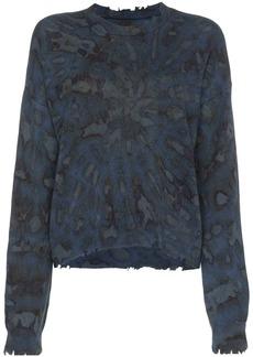 RtA tie-dye cashmere jumper