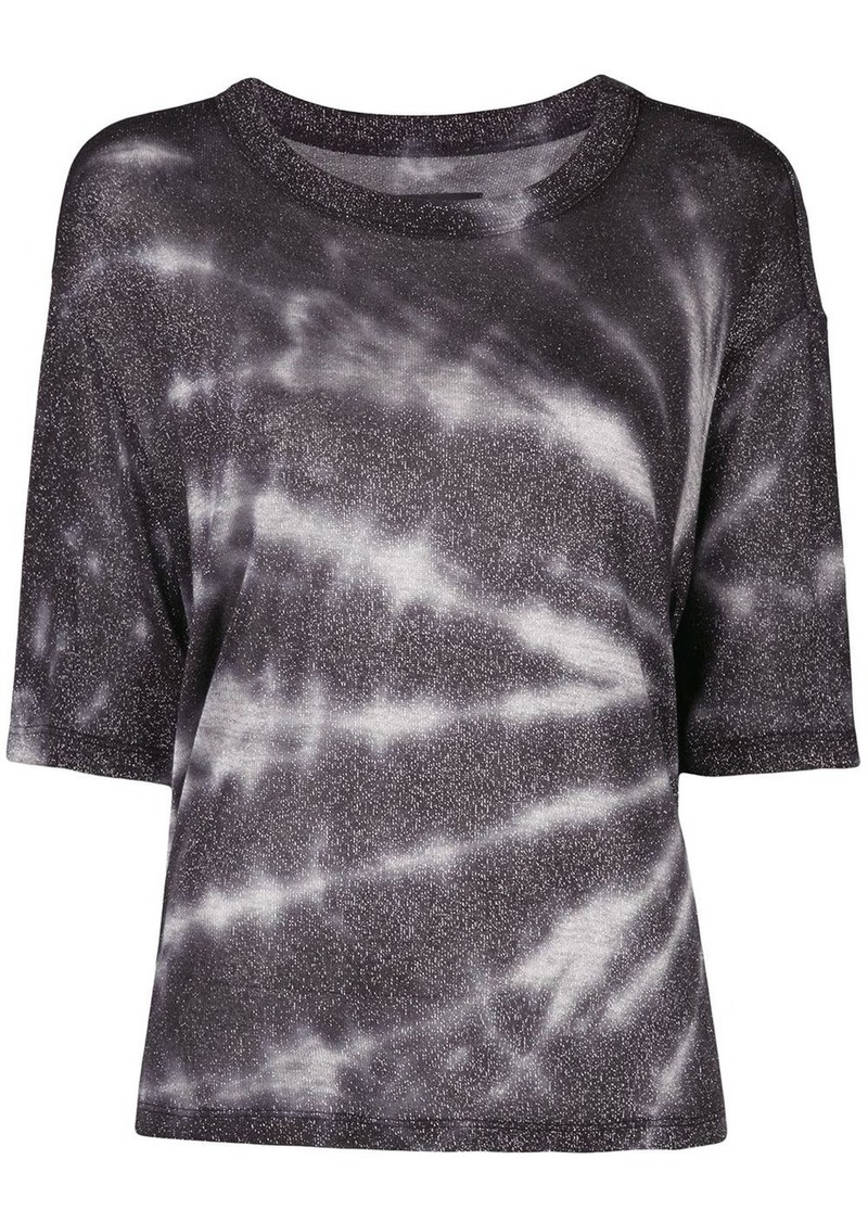 RtA tie-dye short sleeve top