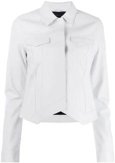 RtA trucker leather jacket