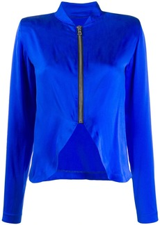 RtA zip detail blouse