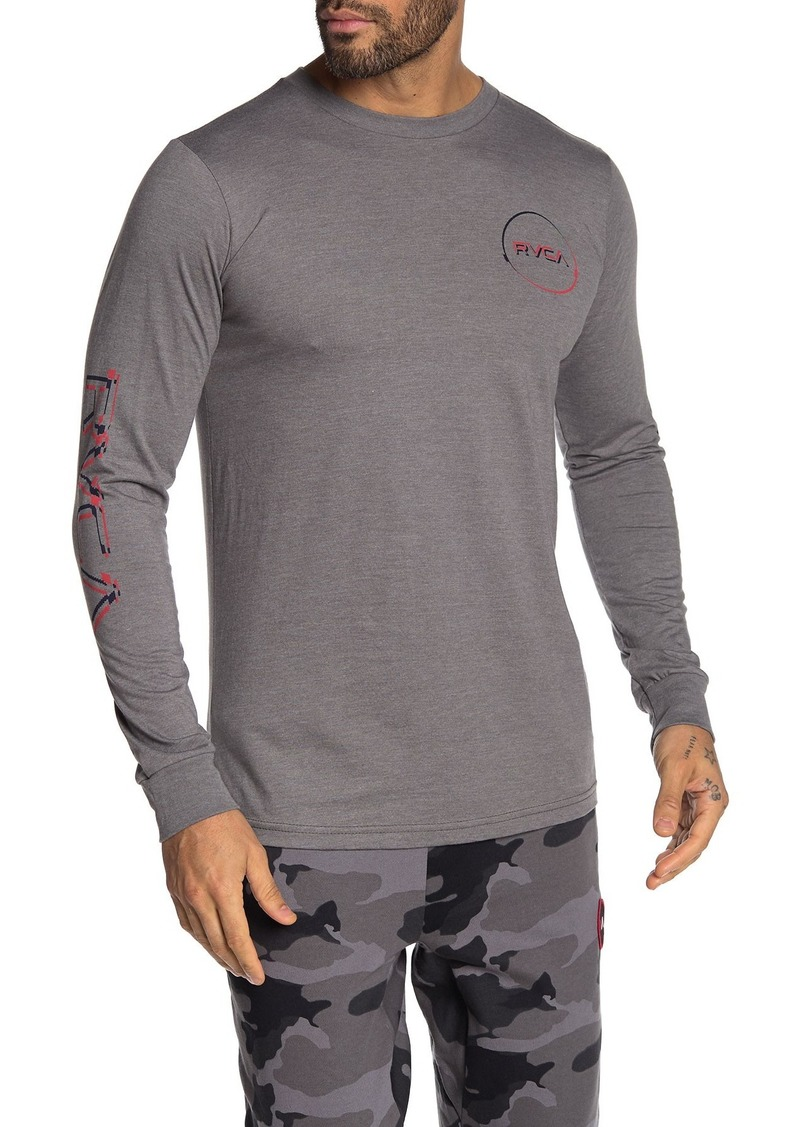 RVCA Big Glitch Long Sleeve T-Shirt