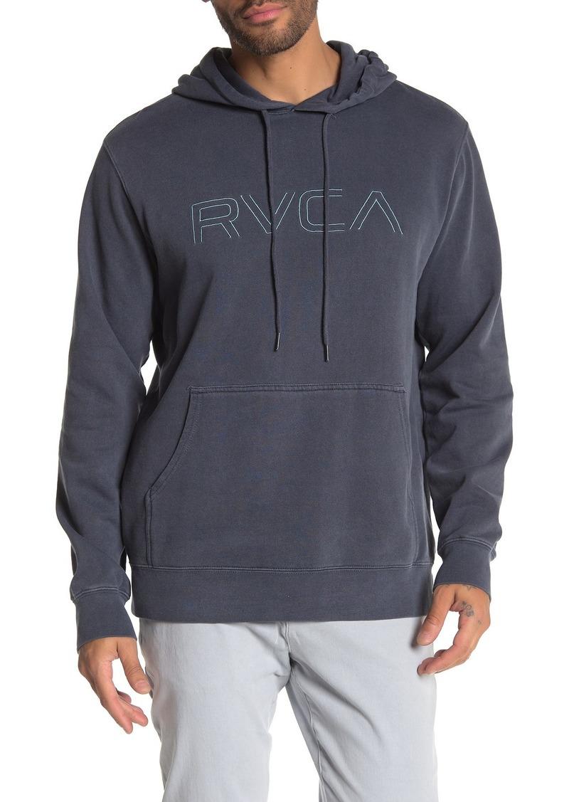 Big RVCA Pigment Hoodie