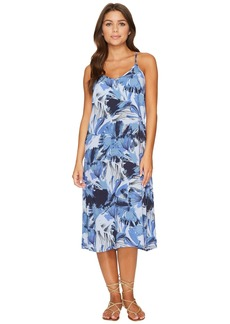 RVCA Chasing Shadows Floral Midi Dress