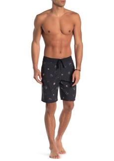 RVCA Colva Printed Swim Trunks