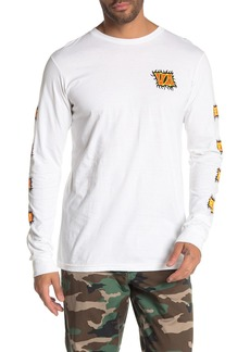 RVCA Crawling Long Sleeve T-Shirt