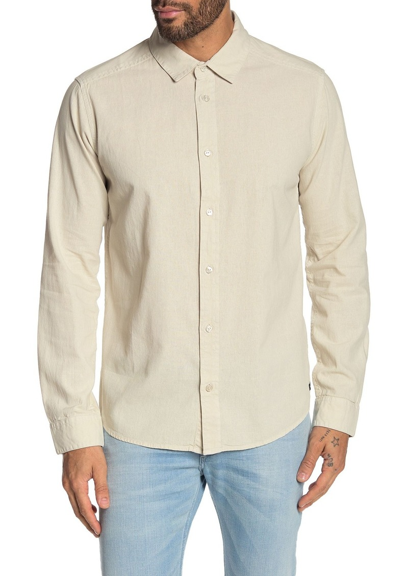 RVCA Crushed Slim Fit Shirt