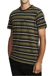 RVCA Davis Stripe Short Sleeve