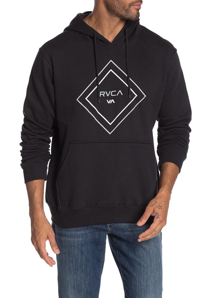 RVCA Diamond Print Hoodie