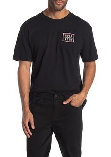 RVCA Flip Logo Print T-Shirt