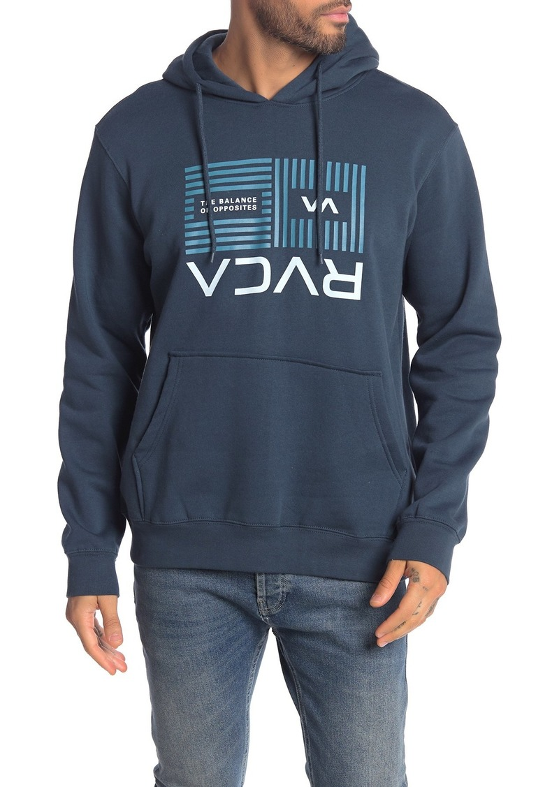 RVCA Flipped Balance Bars Pullover Hoodie