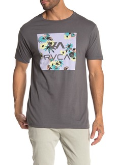 RVCA Floral Fill Crew Neck T-Shirt