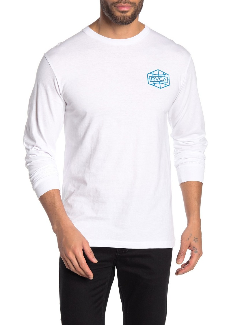 RVCA Global Hex Long Sleeve T-Shirt