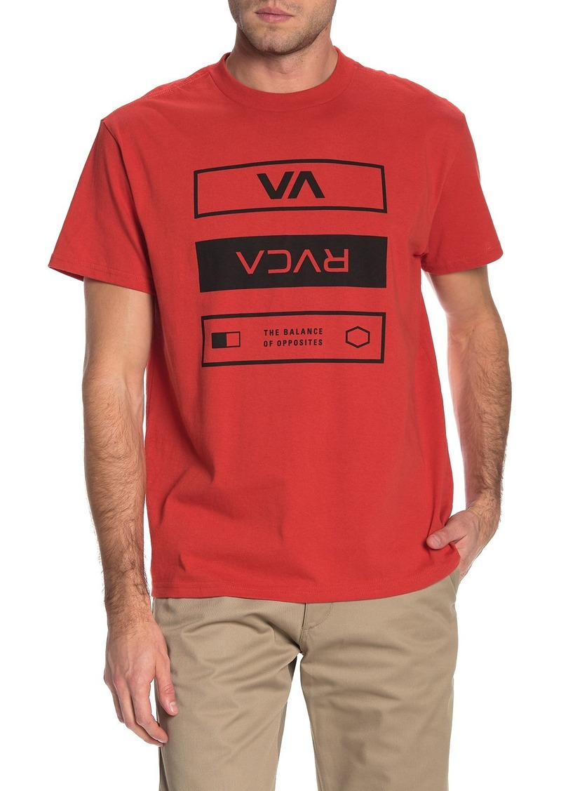 RVCA Graphic Crew Neck T-Shirt