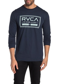RVCA Label Long Sleeve T-Shirt