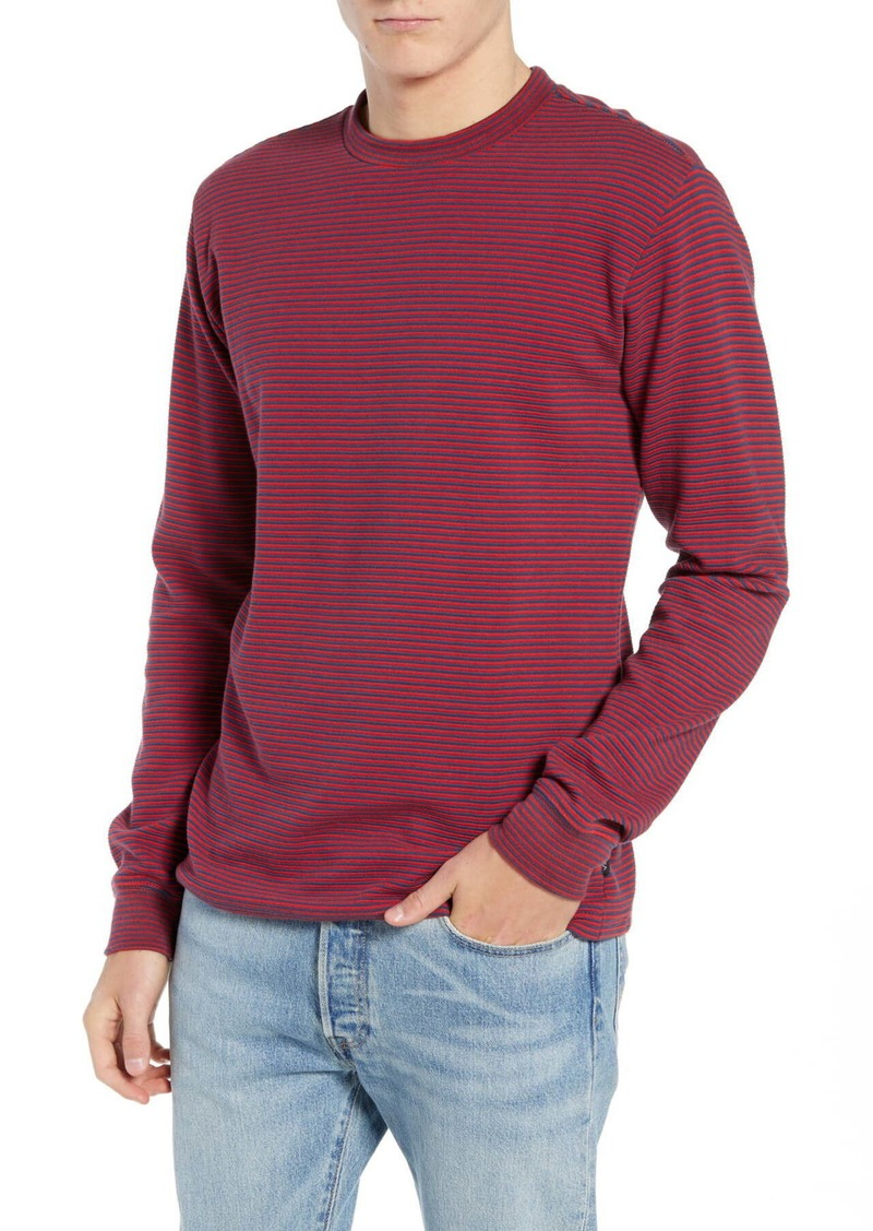 RVCA Manc Stripe Long Sleeve T-Shirt
