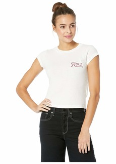 RVCA Maryweather Fitted T-Shirt