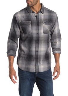 RVCA Muir Plaid Flannel Regular Fit Shirt