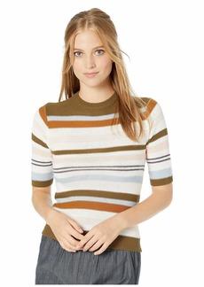 RVCA Nora Striped Knit Sweater