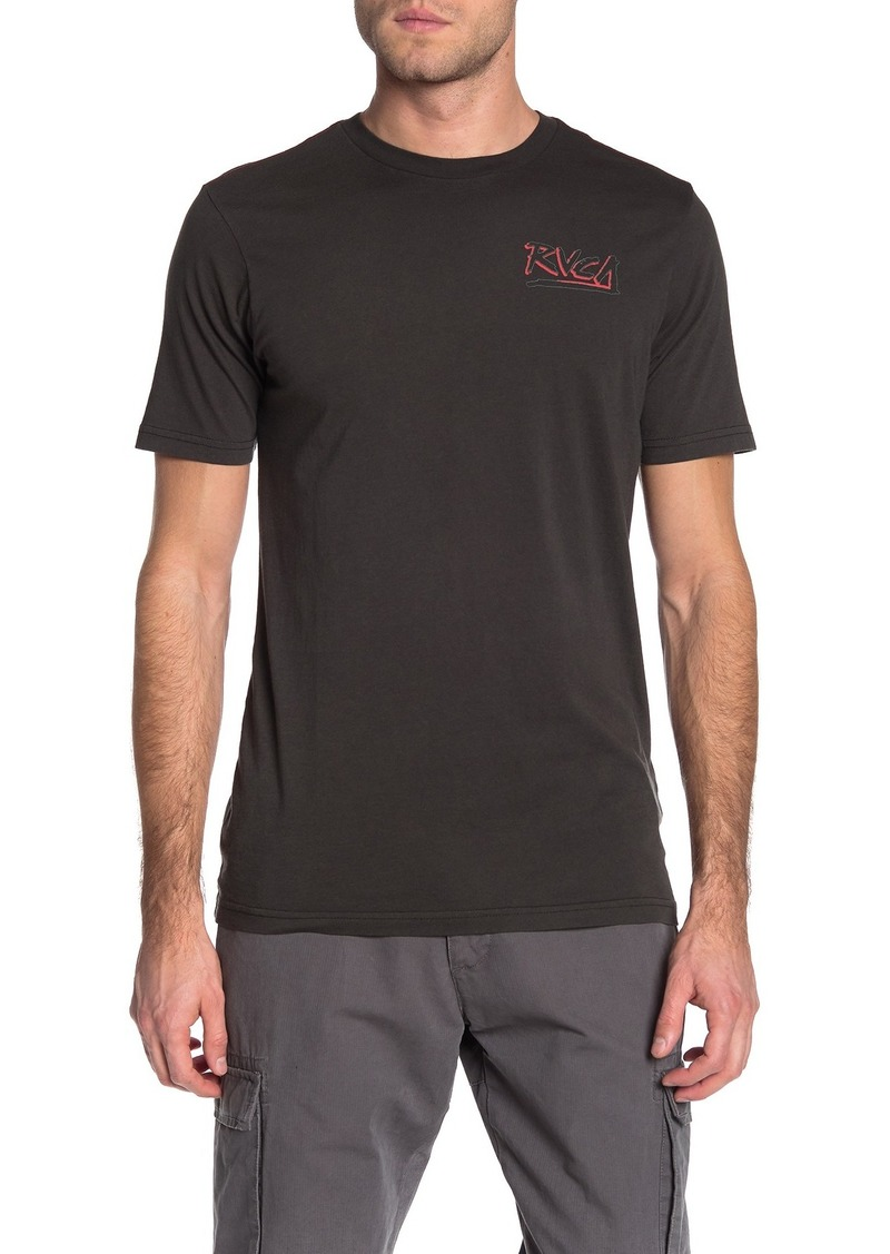 RVCA Offset Crew Neck T-Shirt
