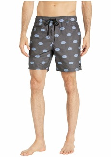 """RVCA Out There Elastic Shorts 17"""""""