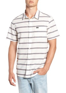 RVCA Outer Sunset Stripe Slim Fit Shirt