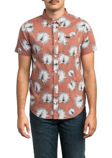 RVCA Palms Woven Slim Fit Shirt