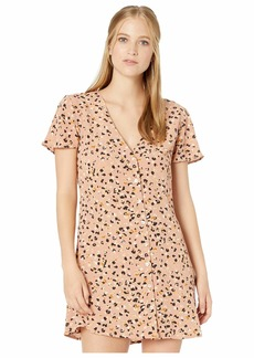 RVCA Pebble Button-Up Dress