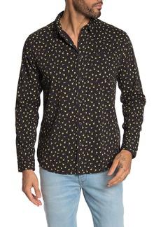 RVCA Prelude Floral Print Slim Fit Shirt
